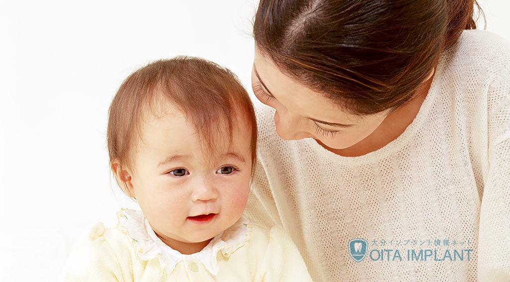 乳幼児の歯磨き